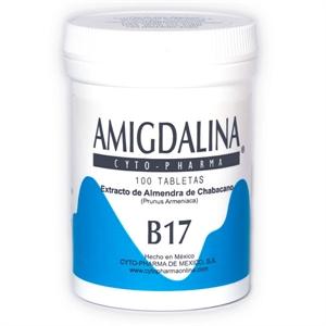 A vitamina B17 (amigdalina) em tabletes da CytoPharma possui qualidade e eficácia comprovadas